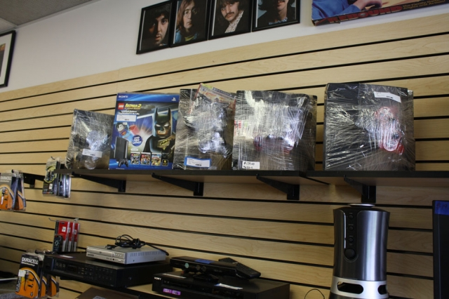 Many different items including Gaming Systems; Blueray Players; DVD Players; etc.