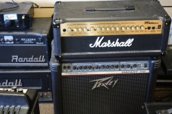 Marshal; Randall; and Peavy Amplifiers