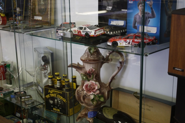 Various antiques and other items